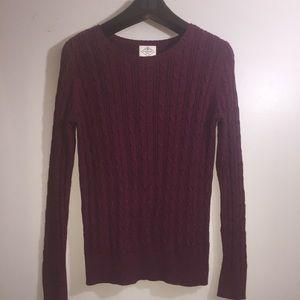 St. John's Bay Cable Knit Sweater. Medium